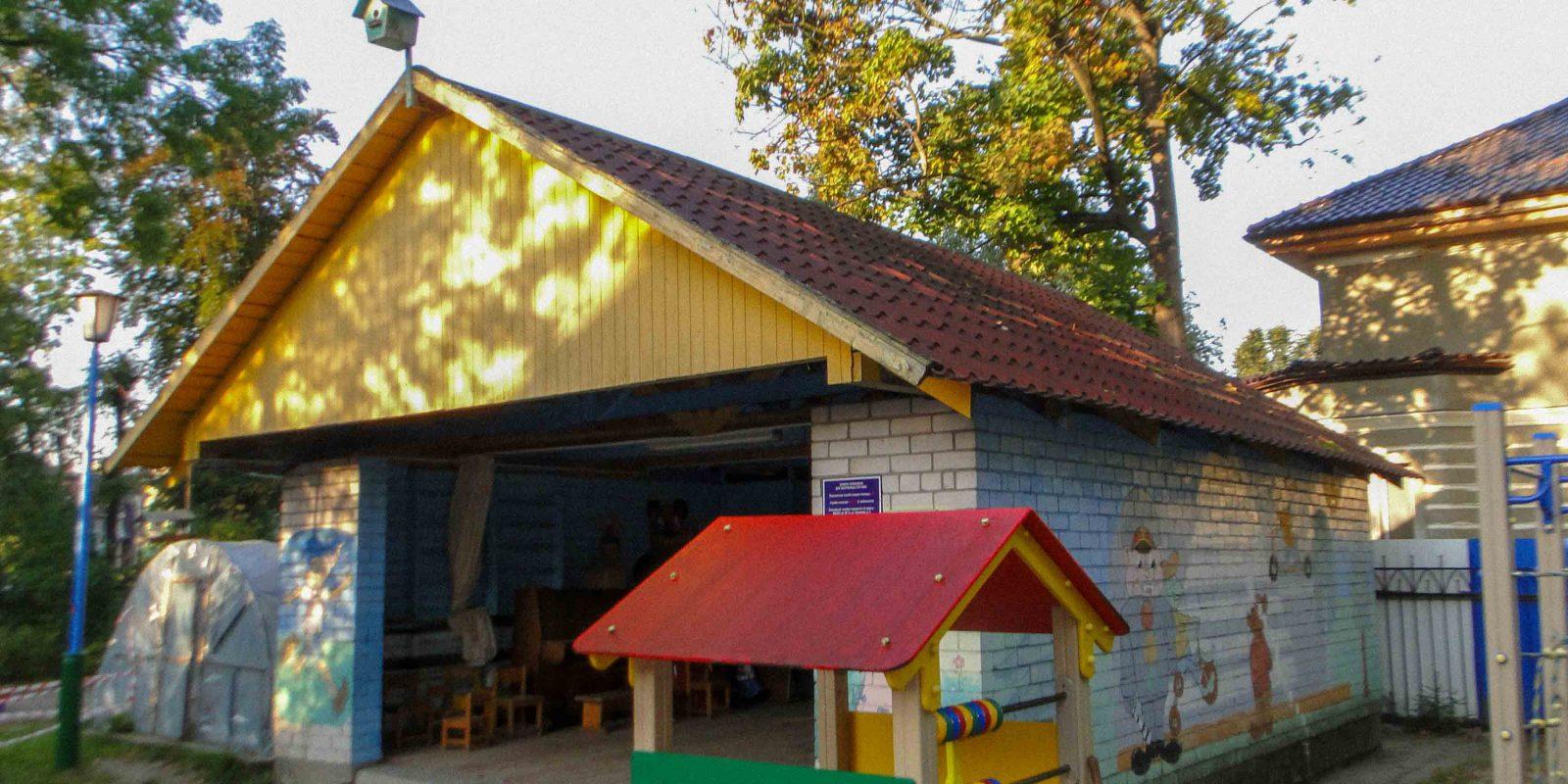 Обследование веранд на территории детского сада
