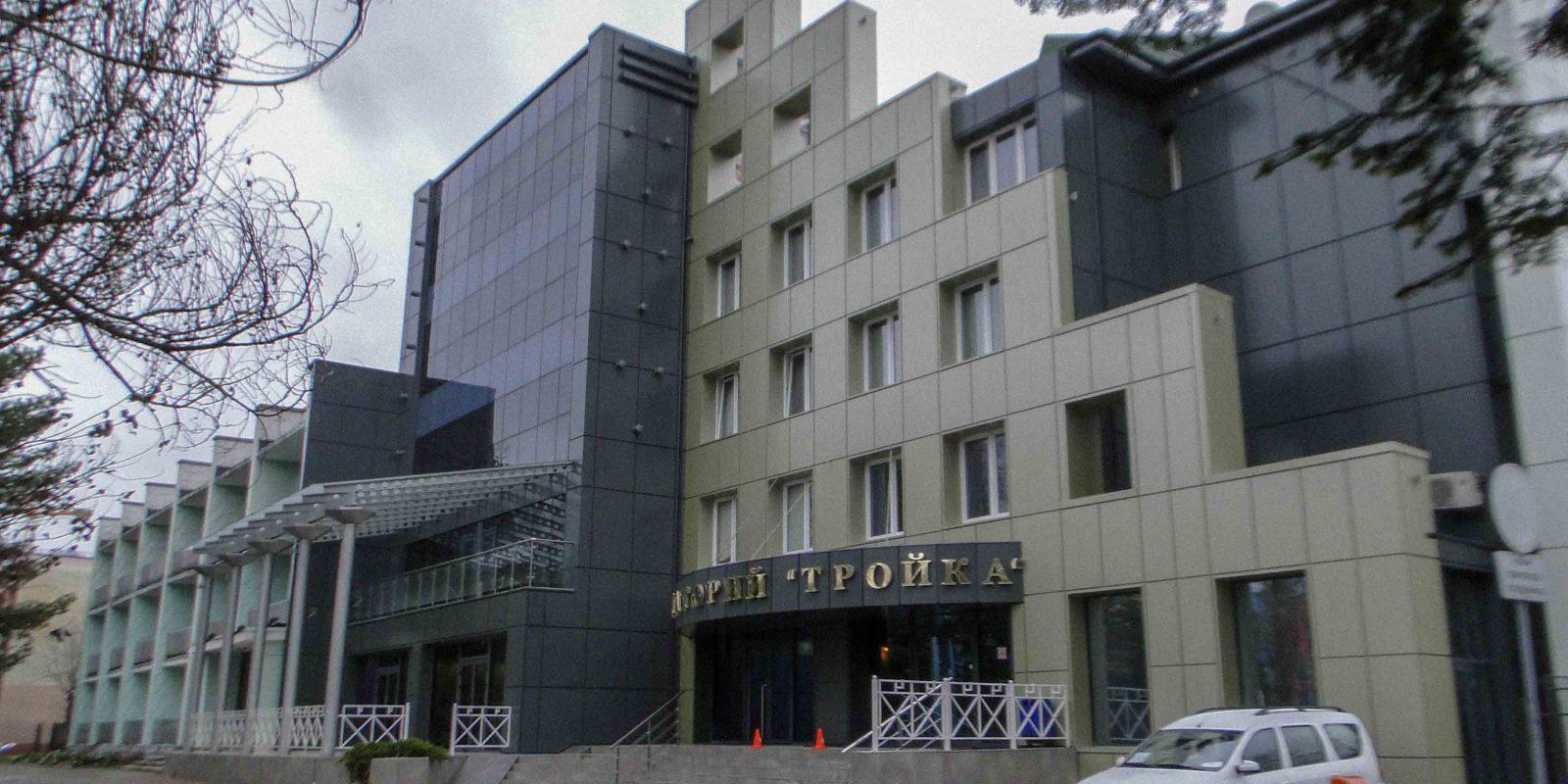 Строительный контроль работ капитального ремонта фасада и коммуникаций здания санатория