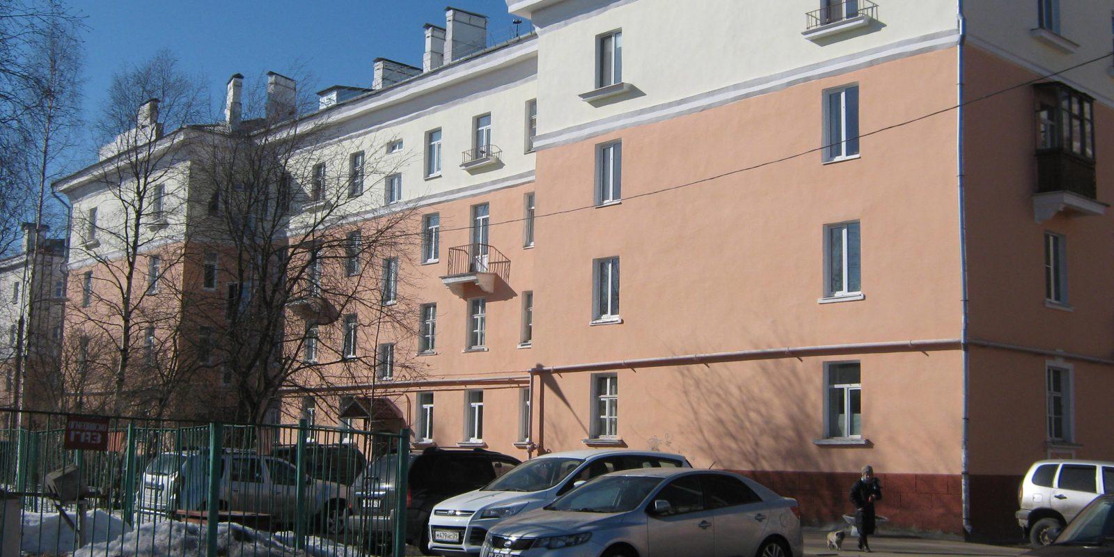 Обследование многоквартирного жилого дома