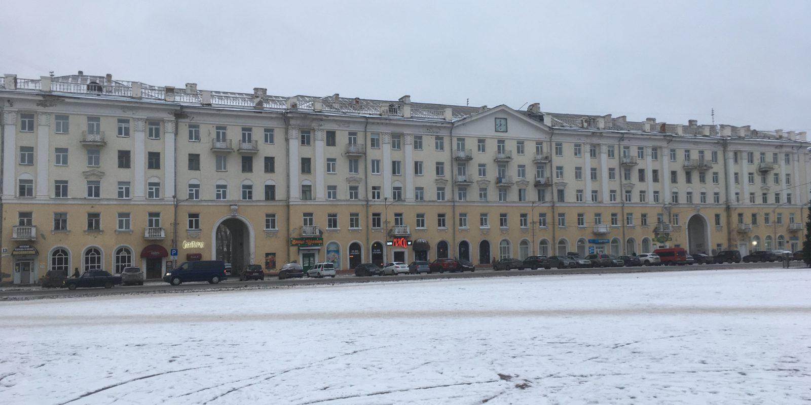 Обследование балконных плит жилого здания